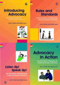 Speaking up: a Plain Text Guide to Advocacy (4-volume set)